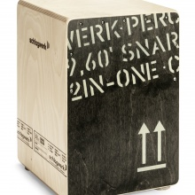 2inOne Cajon Medium Black Edition
